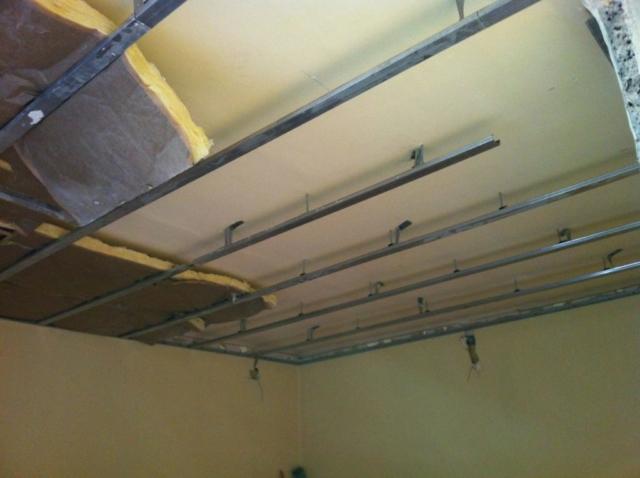 Malakoff rénovation complète appartement - Création faux plafond