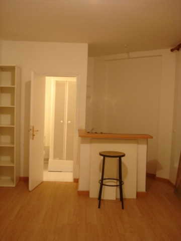 Dans cette restauration de studio locatif à Paris 17ème, l'objectif fût l'optimisation de l'espace