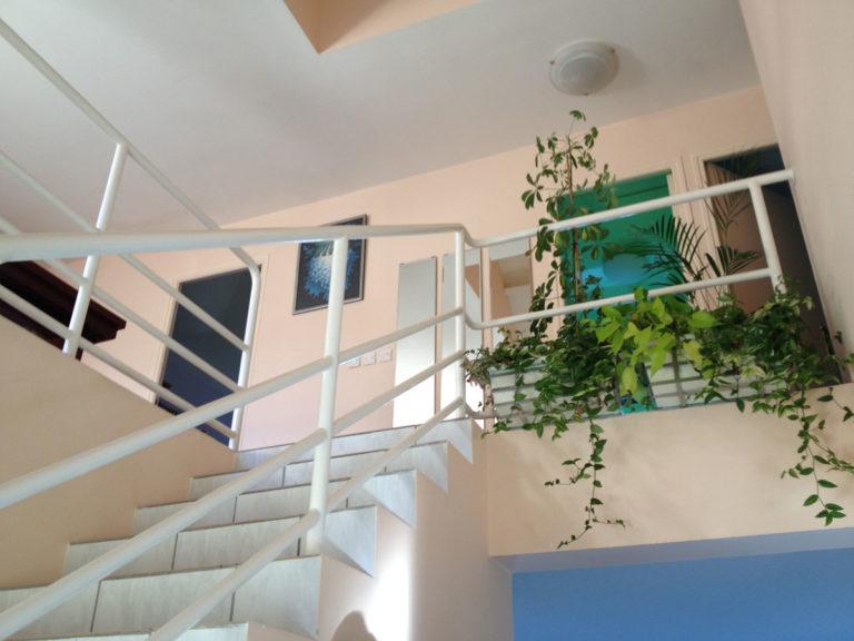 Varennes Jarcy vitrification parquet peinture maison d'architecte